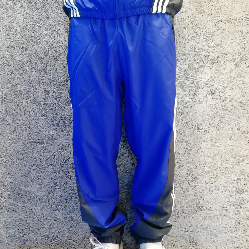 ADIDAS SKATEBOARDING INSLEY TRACK PANTS ACTIVE BLUE/SOLID GREY/WHITE