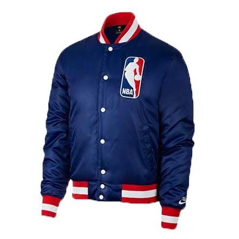 NIKE SB × NBA BOMBER JACKET ROYAL BLUE