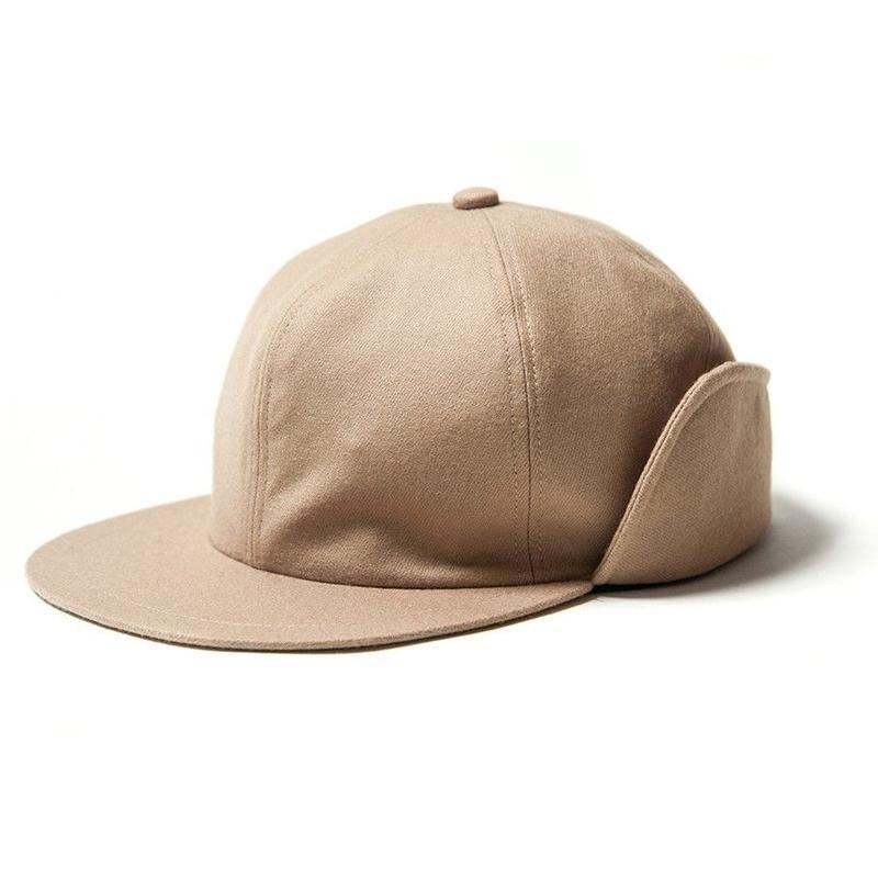 EVISEN SKATEBOARDS CAPTAIN WOOL CAP BEIGE