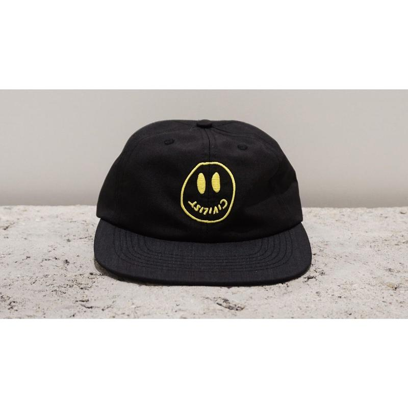 CIVILIST SMILER CAP BLACK