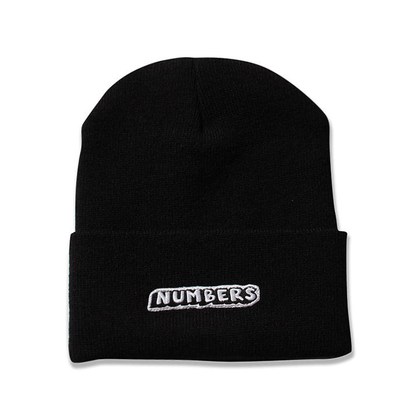 NUMBERS EDITION DROP SHADOW BEANIE