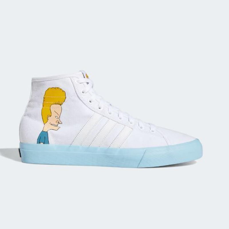 "ADIDAS SKATEBOARDING MATCHCOURT HIGH RX  ""BEAVIS AND BUTTHEAD """