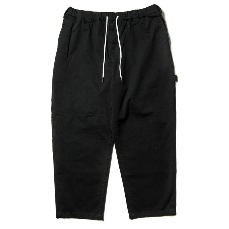 TIGHTBOOTH PRODUCTION BAGGY PAINTER PANTS BLACK