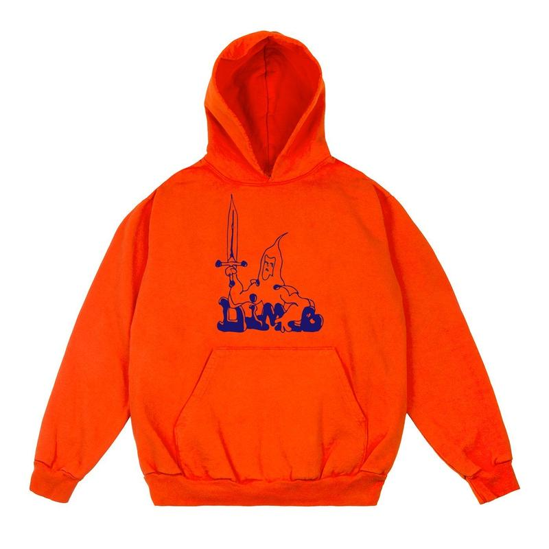 DIME BELLATOR HOODIE BRIGHT ORANGE