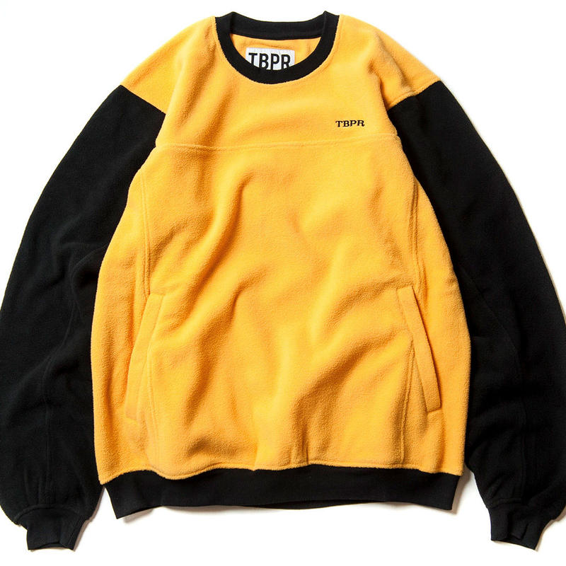 TIGHTBOOTH PRODUCTION GOD FLEECE PULLOVER  YELLOW