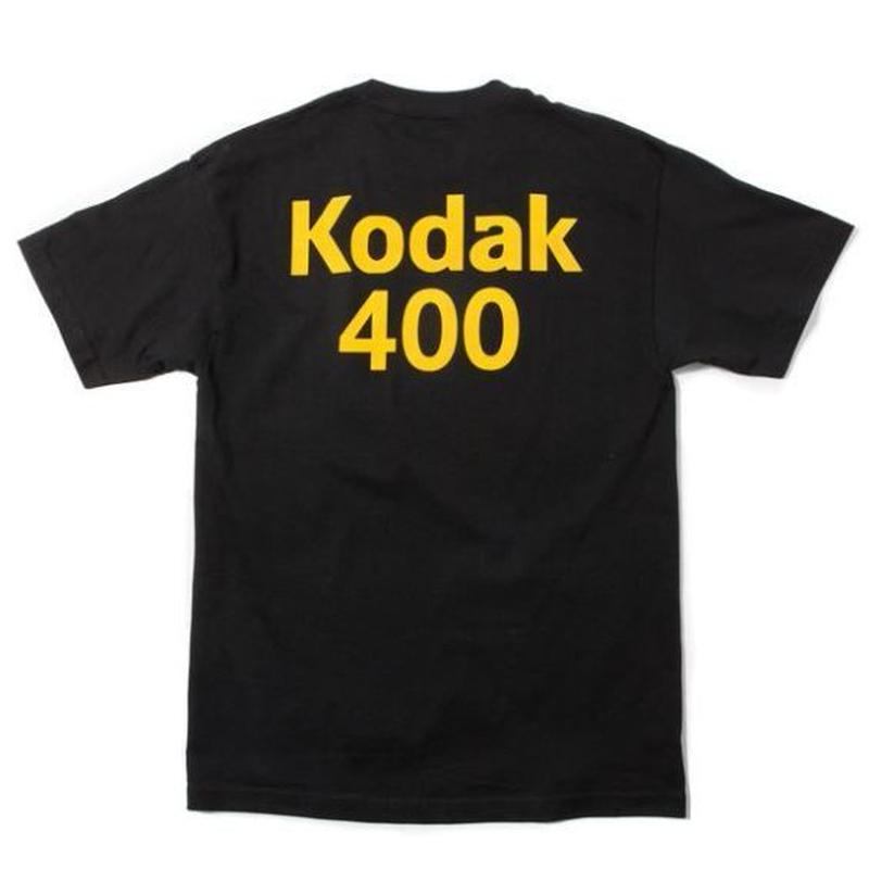 GIRL SKATEBOARDS X KODAK 400 TEE BLACK
