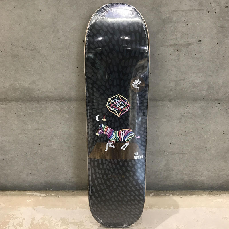 MAGENTA SKATEBOARDS PERCEPTIONS SOY PANDAY DECK  8.0inch