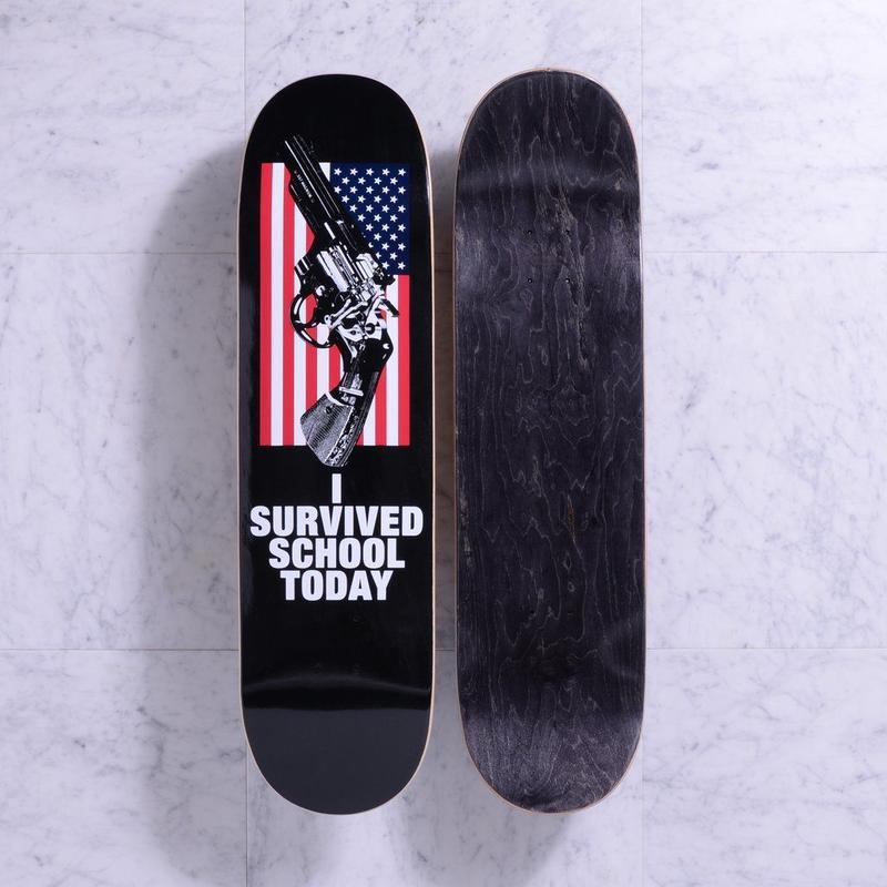 QUASI SKATEBOARDS AMERICA BLACK 8.25