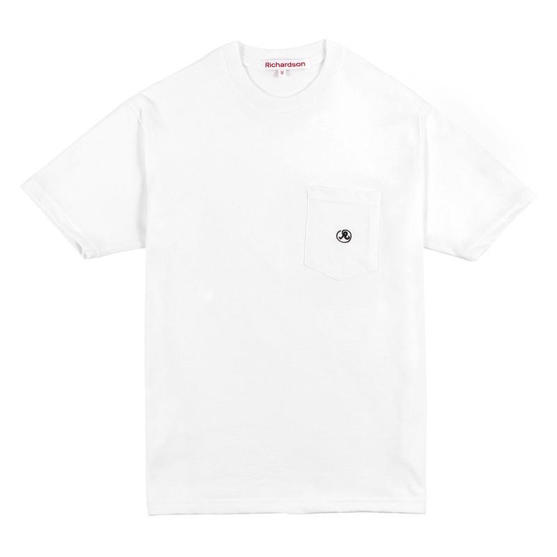 RICHARDSON  POCKET GLYPH T-SHIRT WHITE