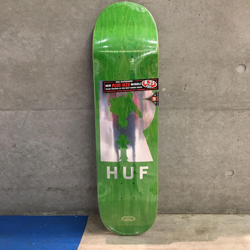 REAL SKATEBOARDS HUF HYDRANTS 8.25