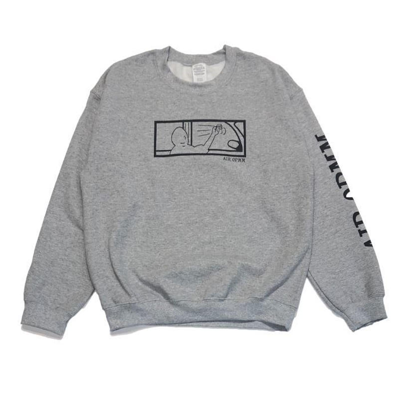 OPMM AIR OPMM SWEAT SHIRT GREY