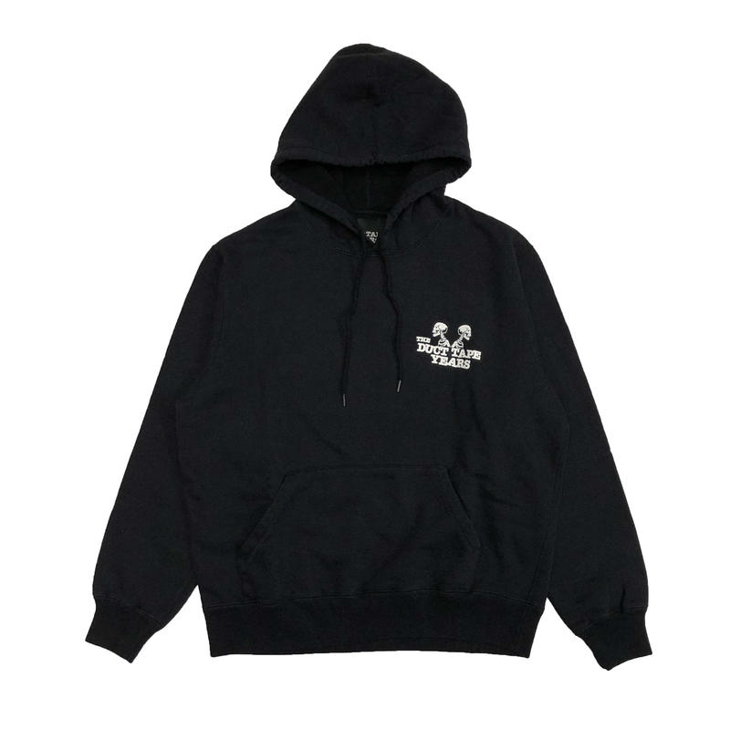 THE DUCT TAPE YEARS    DOUBLE HEADER  PULLOVER   BLACK