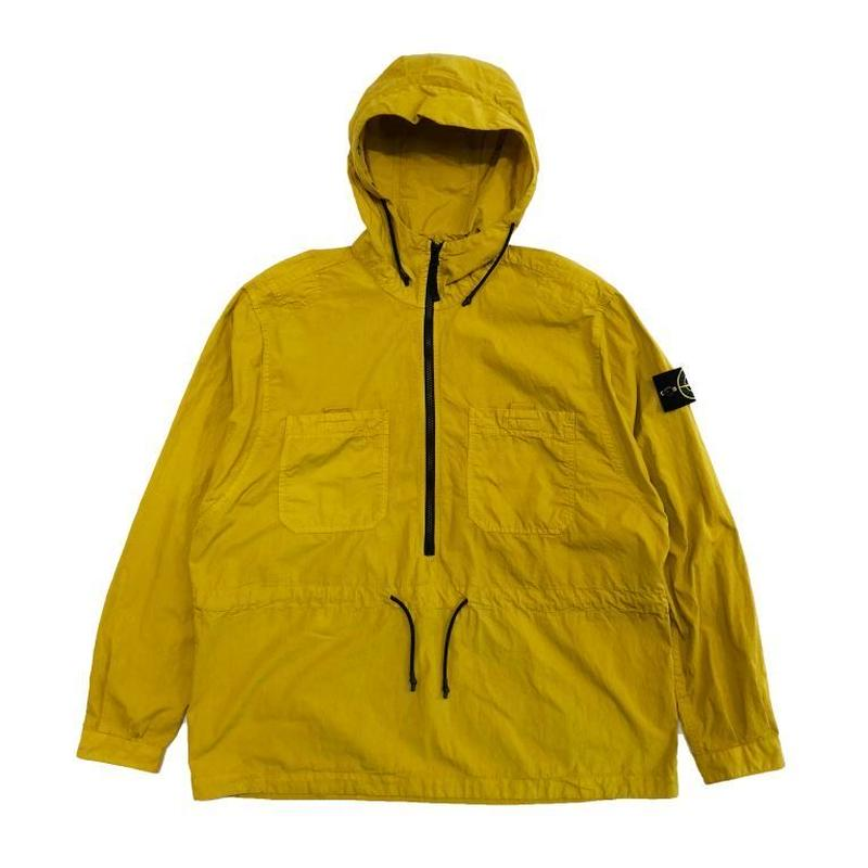 STONE ISLAND OVER SHIRT  YELLOW 10403