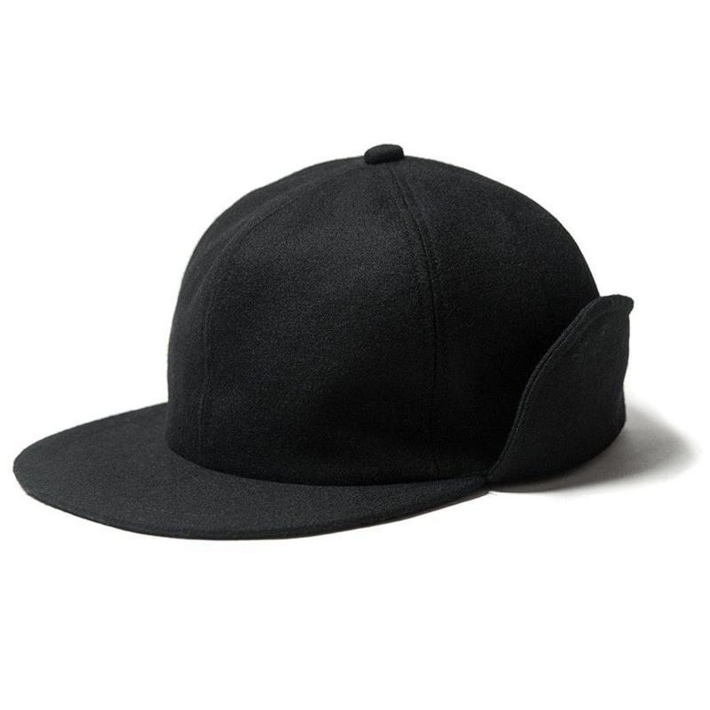 EVISEN SKATEBOARDS CAPTAIN WOOL CAP BLACK