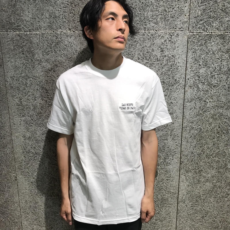 CHOCOLATE SKATEBOARDS  EMBROIDERED PACO TEE