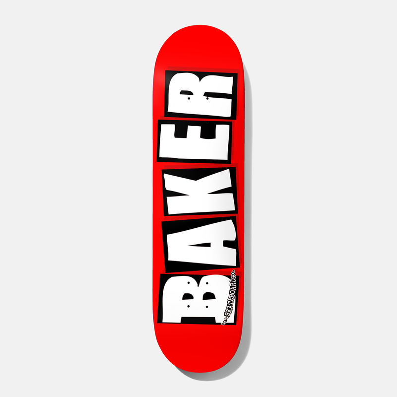 BAKER SKATEBOARDS BRAND LOGO DECK 8.0 /8.25