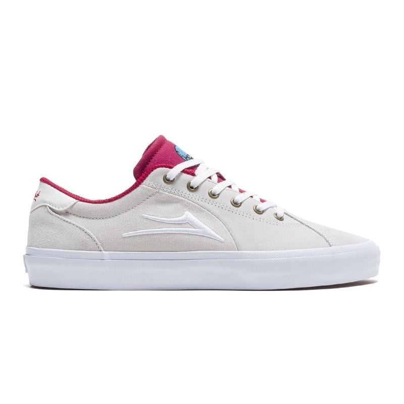 LAKAI FLACO 2 WHITE/RED