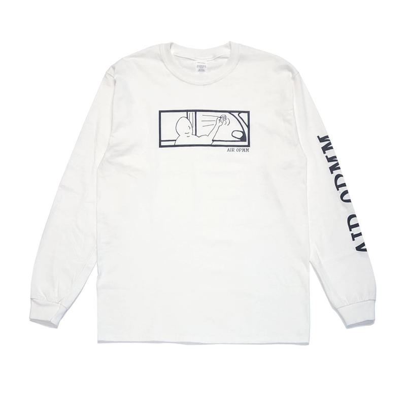 OPMM AIR OPMM LONG SLEEVE WHITE