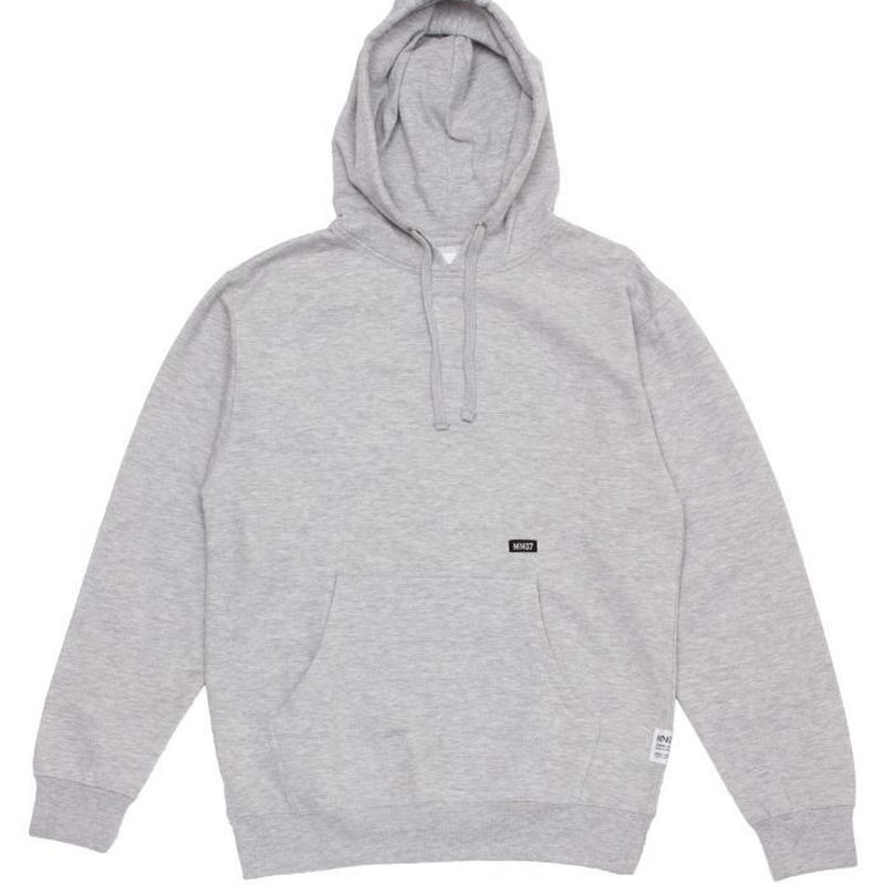 MN07 STOCK EMBROIDERY HOODIE GREY