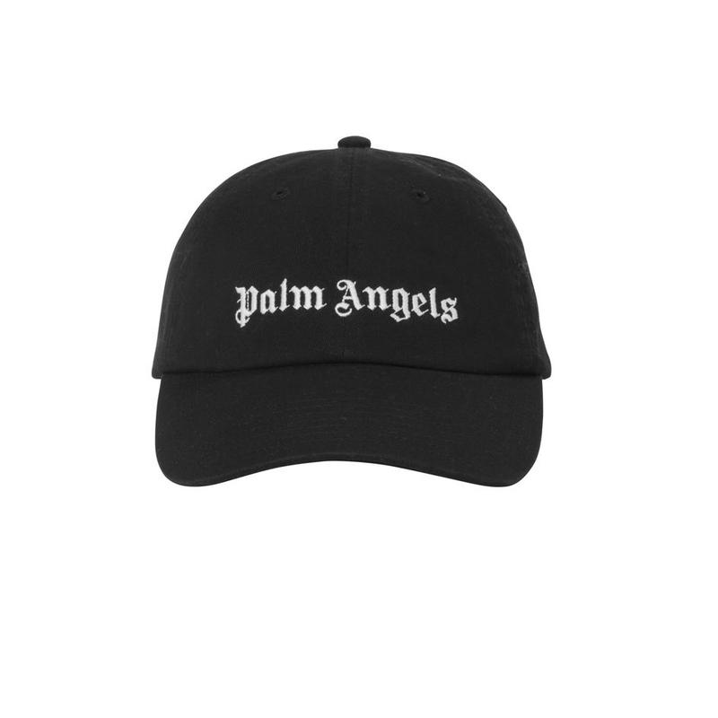 PALM  ANGELS  LOGO CAP BLACK
