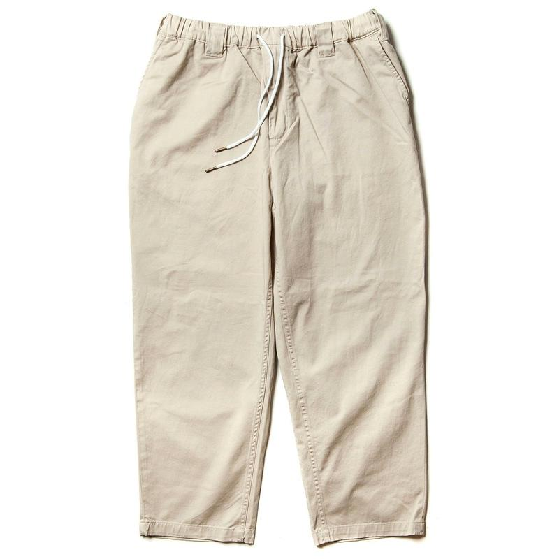 TIGHTBOOTH PRODUCTION BAGGY PAINTER PANTS BEIGE