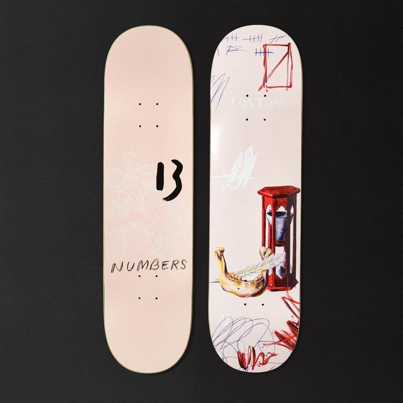 NUMBERS EDITION KOSTON EDITION 5  DECK 8.5INCH