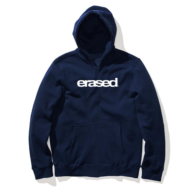ERASED PROJECT JAPAN EXCLUSIVE LOGO HOODIE NAVY