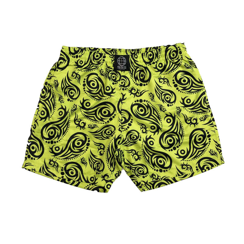 SSS WORLD CORP TRIBAL QUICK DRY SWIM SHORTS