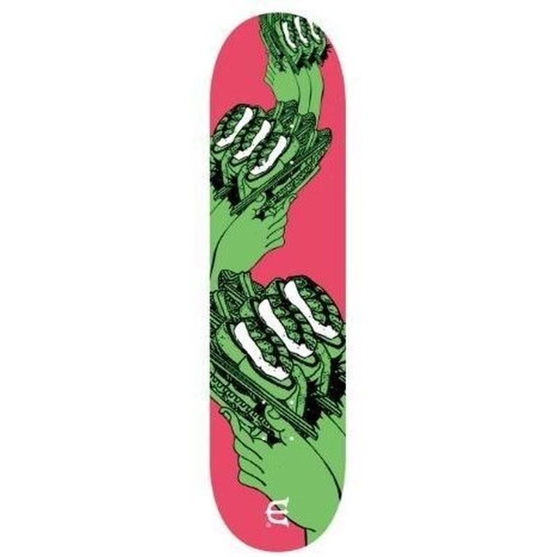 EVISEN SKATEBOARDS SUSHI COASTER GREEN DECK 8.0/8.25