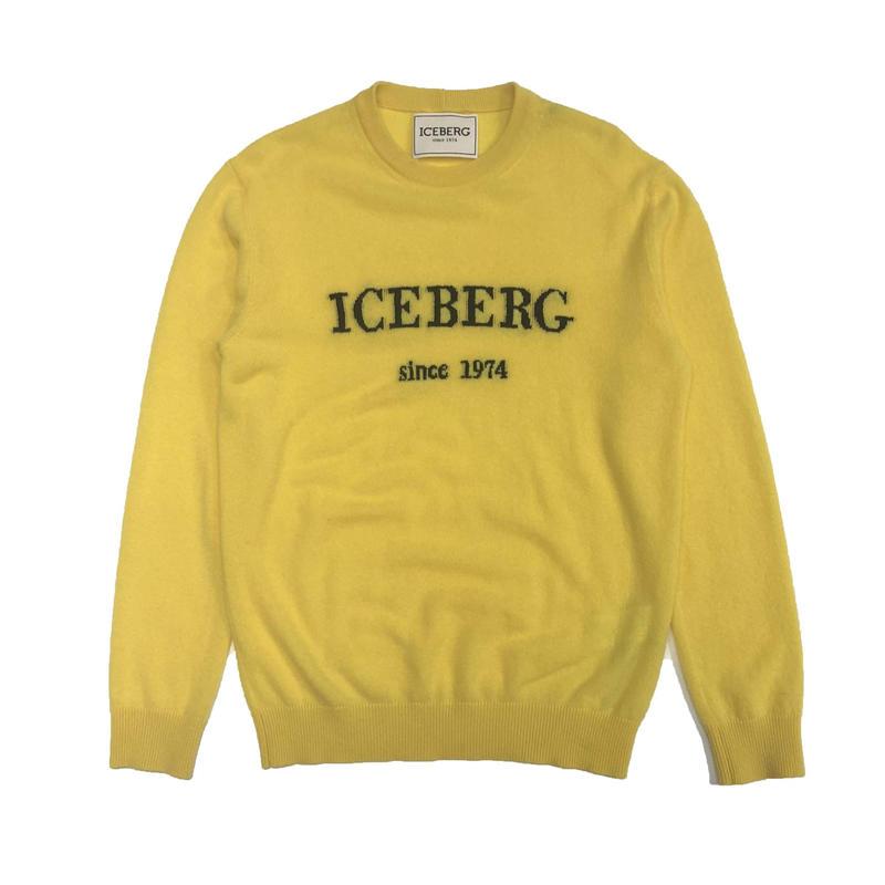 ICEBERG CASHMERE PULLOVER YELLOW