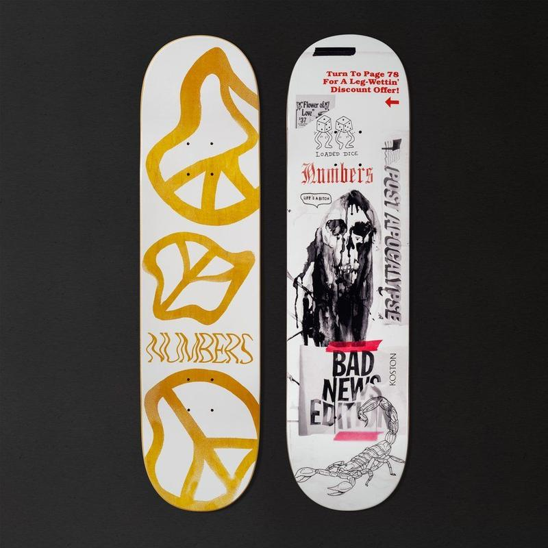 NUMBERS EDITION  KOSTON EDITION 5 DECK 8.25INCH