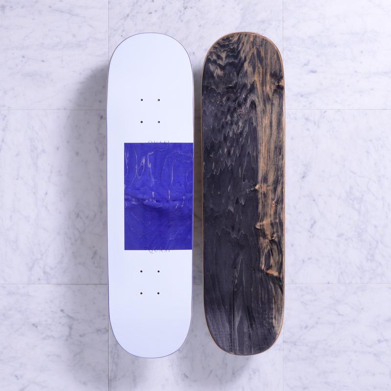 QUASI SKATEBOARDS PROTO DECK WHITE / BLUE 8.25
