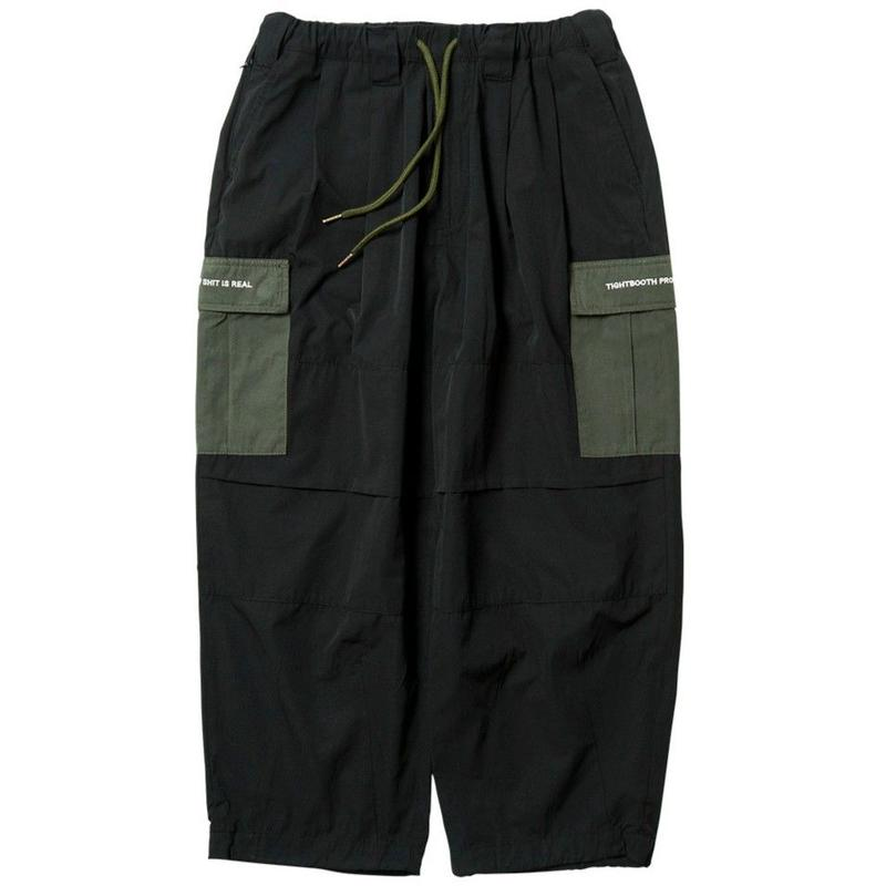 TIGHTBOOTH PRODUCTION BAGGY CARGO PANTS  BLACK