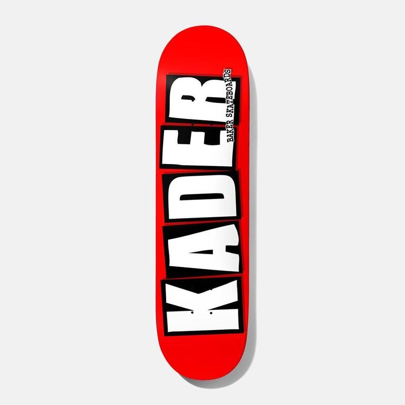 BAKER SKATEBOARDS KADER SYLLA LOGO DECK 8.0