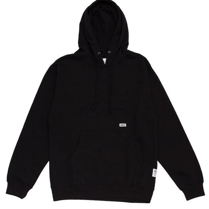 MN07 STOCK EMBROIDERY HOODIE BLACK