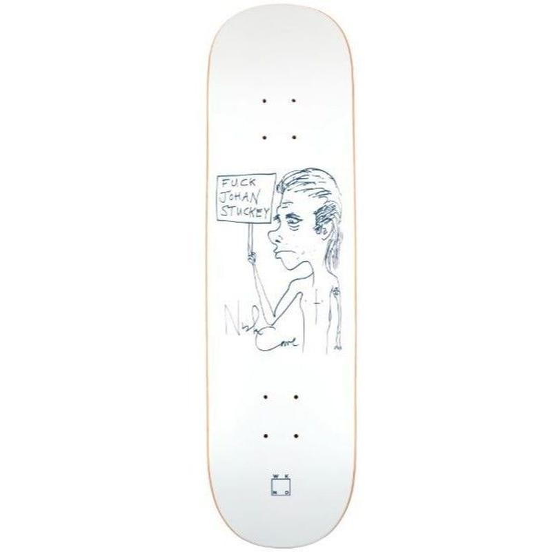 WKND SKATEBOARDS FUCK JOHAN STUCKEY 8.0INCH