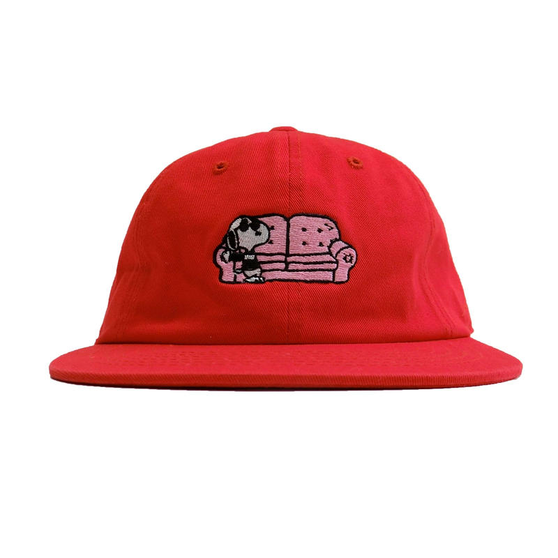COUCH SURF CO SNOOP HAT RED
