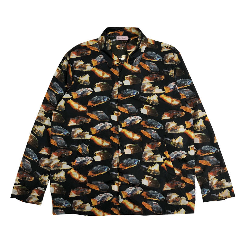 PALM  ANGELS BURNING CARS  COUCH JACKET