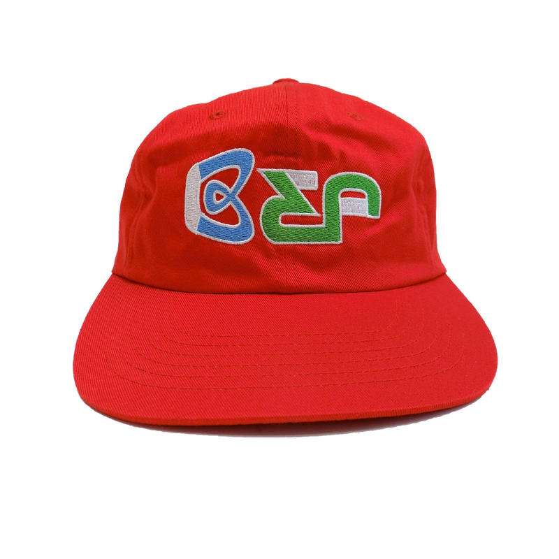 BLACK EYE PATCH BEP 6PANEL CAP RED