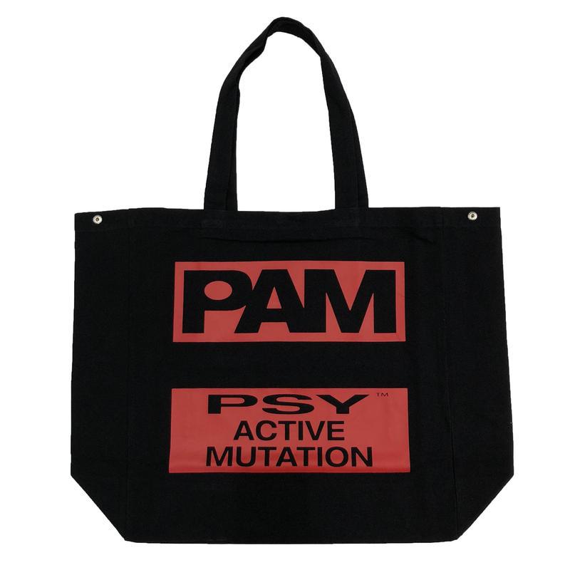 P.A.M   B.L.T.R.C TOTE BAG  BLACK