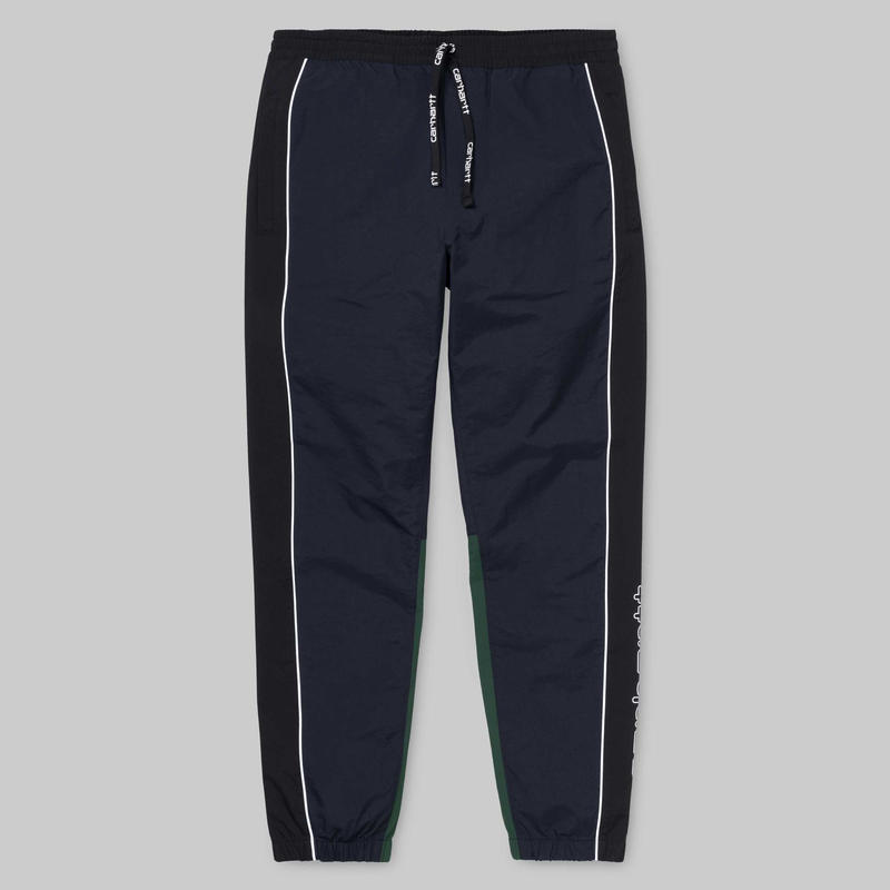 CARHARTT WIP TERRACE PANTS NAVY/BLACK/GREEN