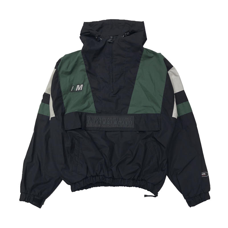 NAPA  BY MARTINE ROSE A-HUEZ JKT  BLACK / GREEN /WHITE