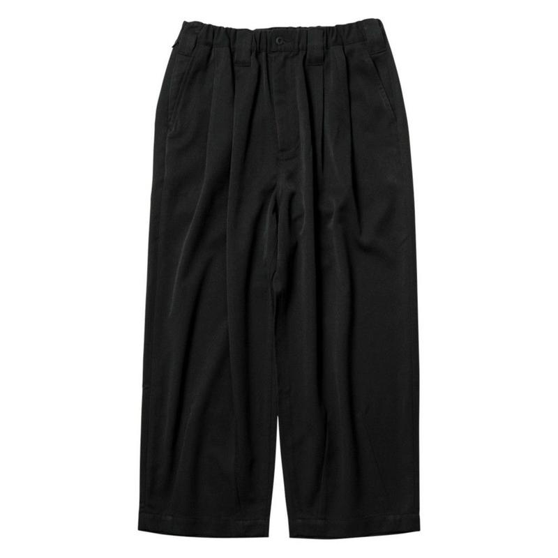 TIGHTBOOTH PRODUCTION BAGGY SLACKS BLACK