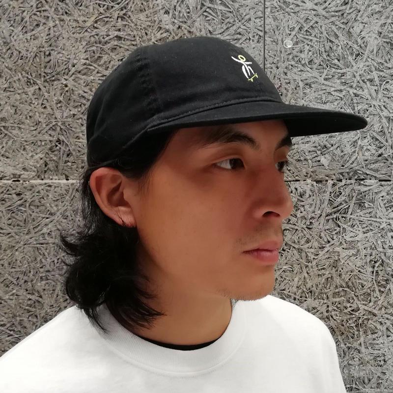 SNAKE PORNO ORINPIA DAD FLAT CAP BLACK