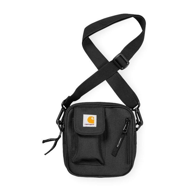 CARHARTT  WIP   ESSENTIALS BAG, SMALL BLACK