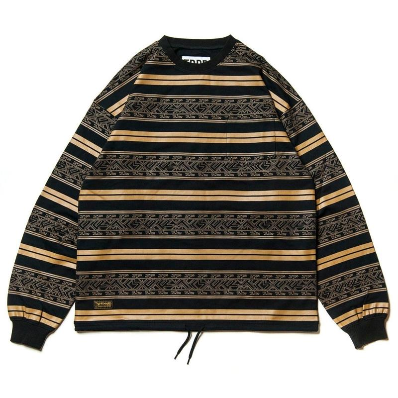 TIGHTBOOTH PRODUCTION ENCORE CREW SWEAT BROWN