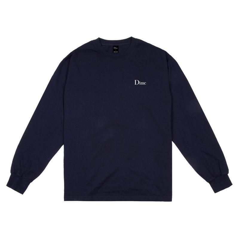 DIME CLASSIC LOGO LSTEE NAVY