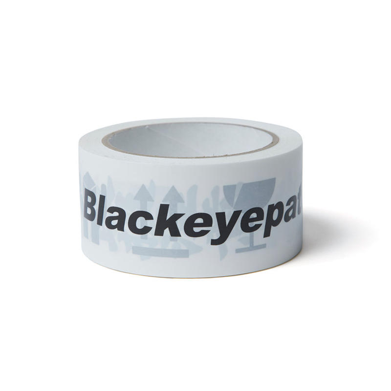 BLACK EYE PATCH HANDLE WITH CARE TAPE