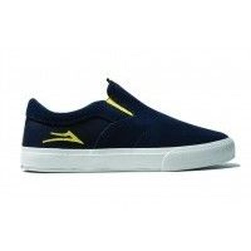 LAKAI × MAKA LASSI OWEN VLK NAVY / YELLOW
