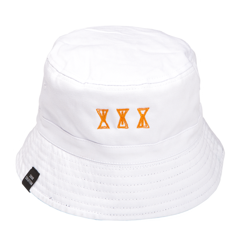 SOUR  SOURGLASS  BUCKET HAT WHITE